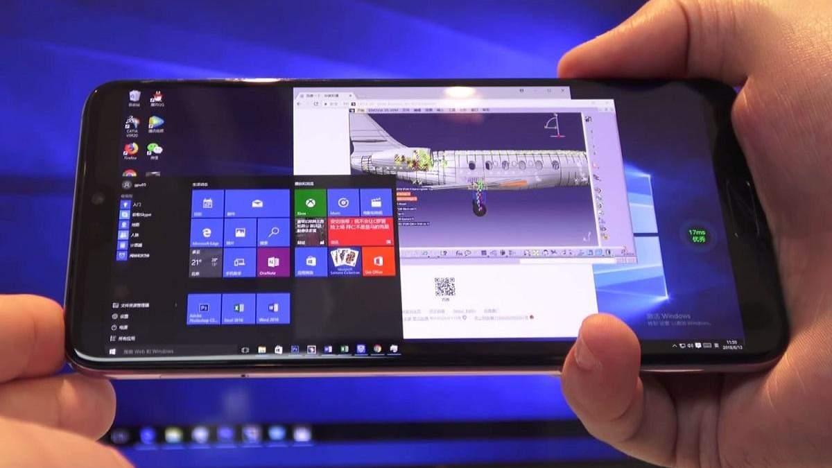 Энтузиасты установили Windows 10 на смартфоны Xiaomi и Samsung