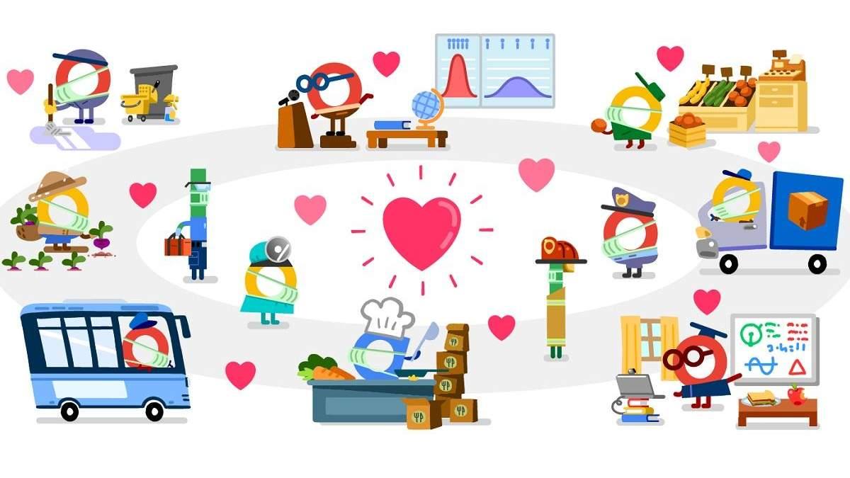 Спасибо работникам служб доставки, упаковщикам и курьерам – Google подготовила новый дудл