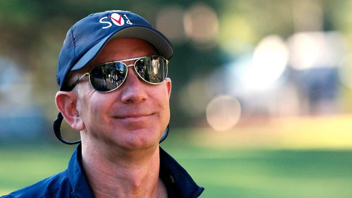 Шалений попит на Amazon: статки Джефа Безоса зросли на 6,4 мільярда доларів