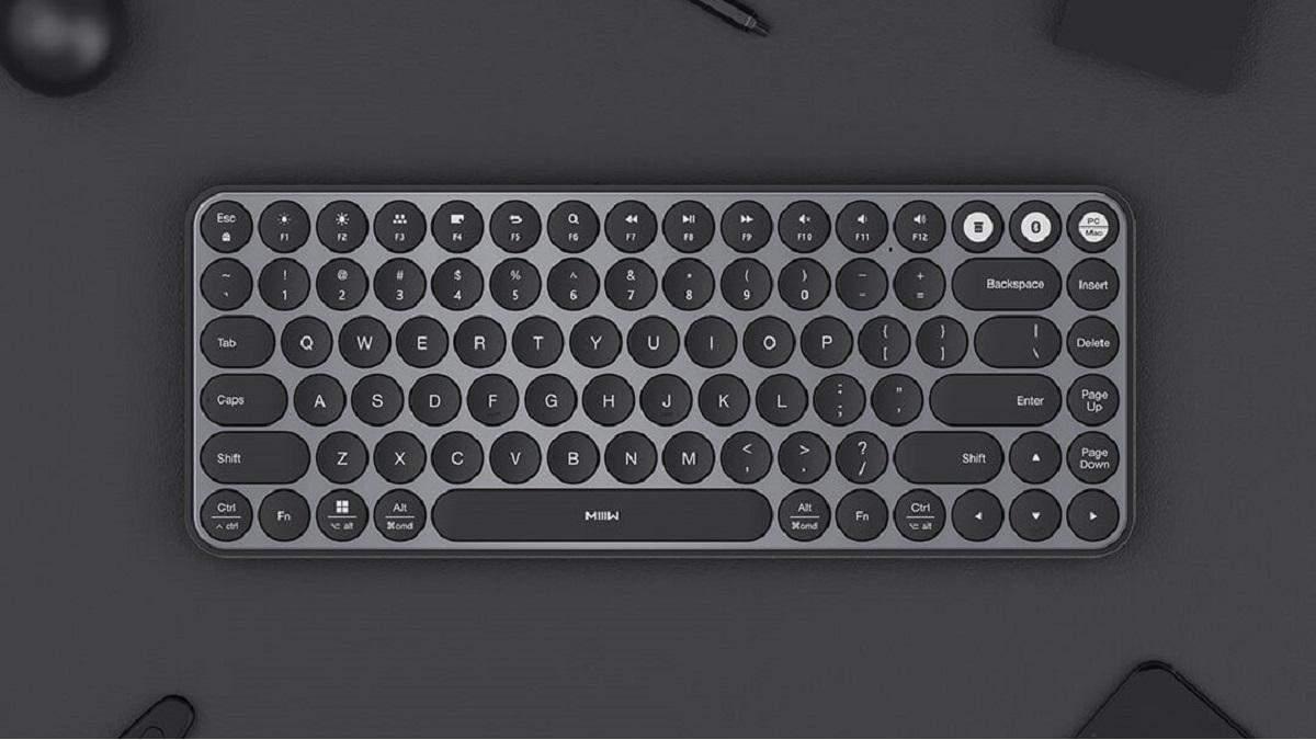 Xiaomi представила компактную беспроводную клавиатуру в ретро-дизайне
