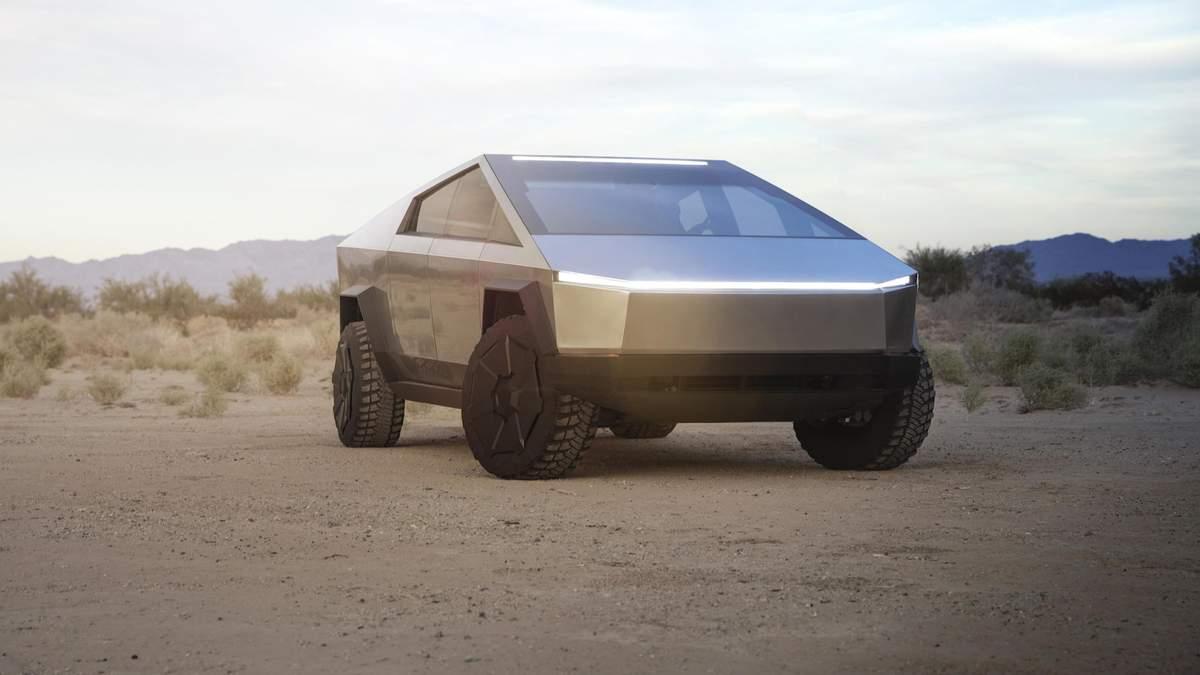 """Ілон Маск: серійний Cybertruck стане меншим і зможе """"трохи плавати"""""""