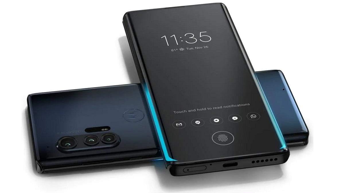 Презентували флагманський смартфон Motorola Edge+: характеристики та ціна моделі