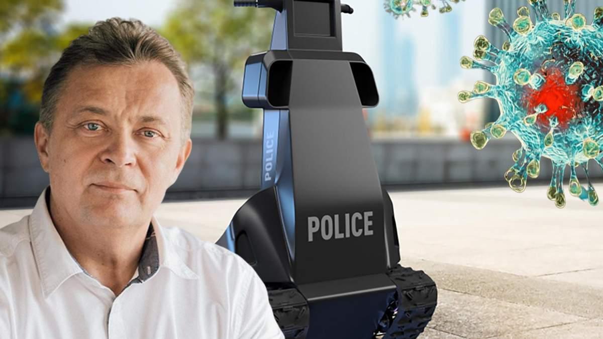 В Україні створили робота-поліцейського: коли може вийти на вулиці України та як діятиме