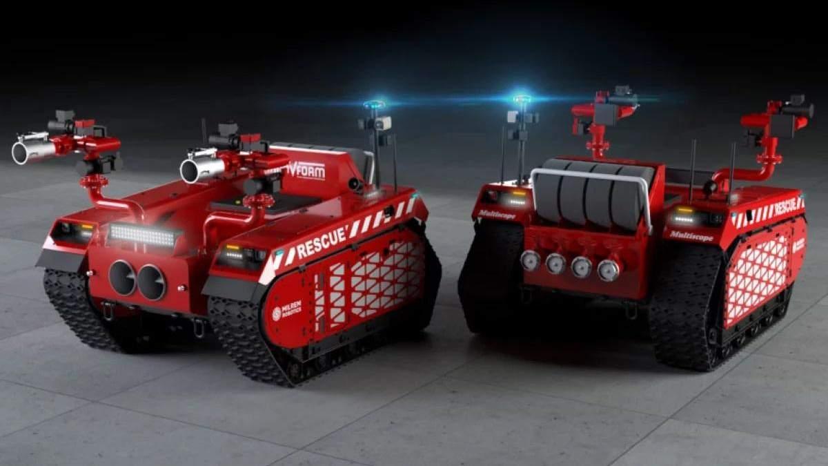 Инженеры создали робота для эффективного и безопасного тушения пожаров