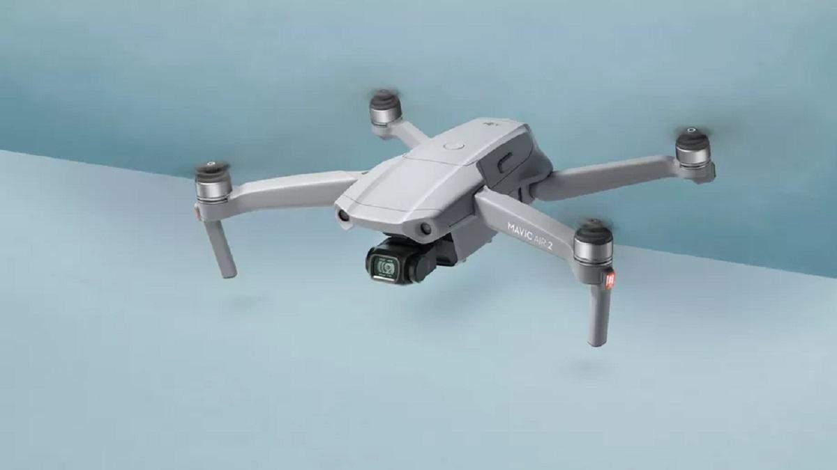 DJI выпустила беспилотник Mavic Air 2 с 48-мегапиксельной камерой: видео