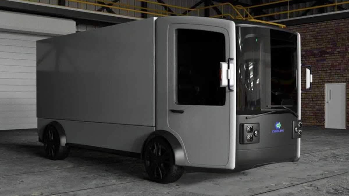 Українські розробники показали дизайн електровантажівки CoolOn