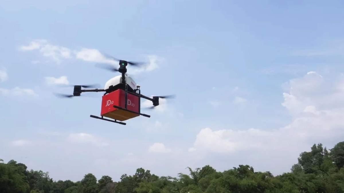 Доставка дронами может быть опасна для экологии: детали