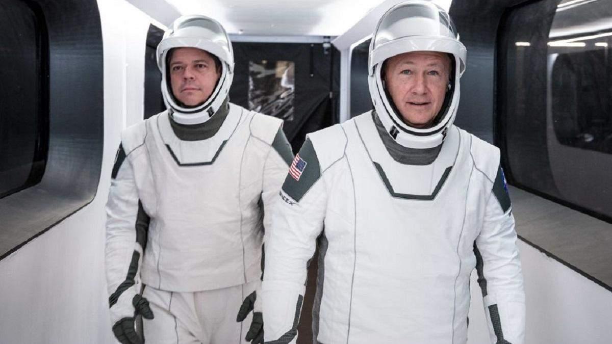 NASA та SpaceX розкрили деталі пілотованого польоту Crew Dragon