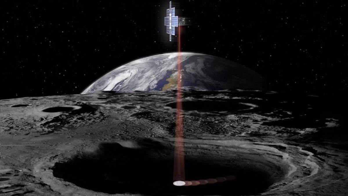Космічний ліхтарик Lunar Flashlight