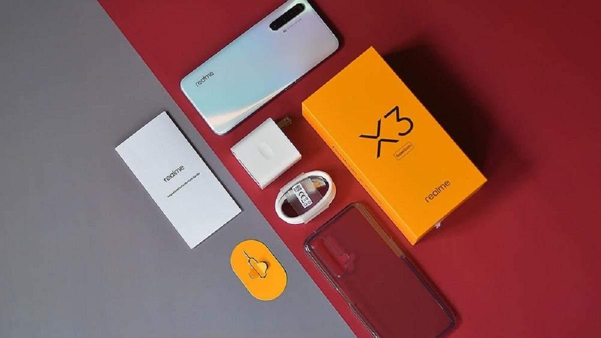 realme X3 SuperZoom рассекретили: характеристики и фото