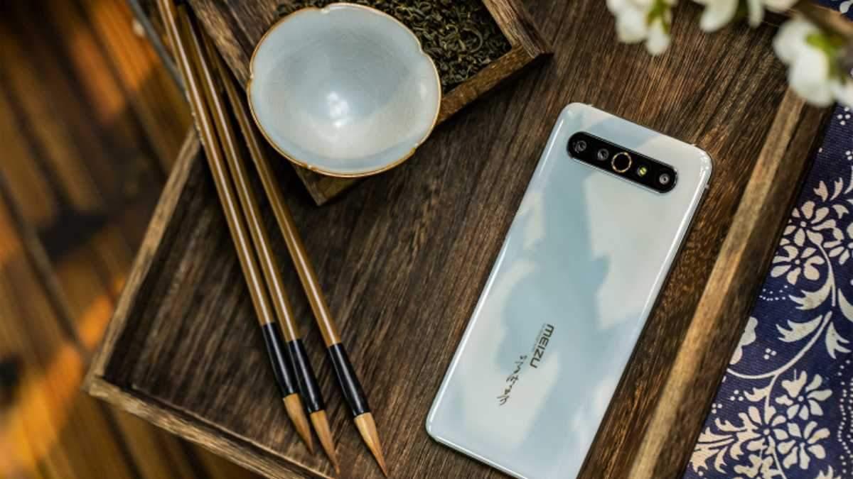 Meizu 17 Pro Kiln Art Collector's Edition получил уникальный дизайн