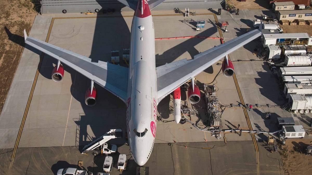 Virgin Orbit потеряла ракету LauncherOne