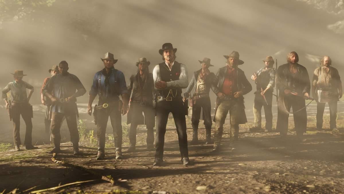 Встреча вокруг костра: британцы проводят совещания в игре Red Dead Redemption