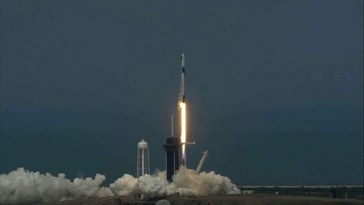 Запуск Crew Dragon – політ NASA і SpaceX – онлайн-трансляція