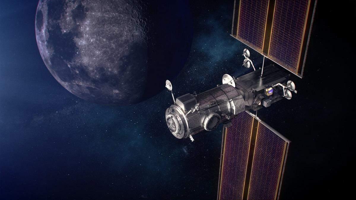 """NASA создаст космический """"дом"""" для исследователей луны"""