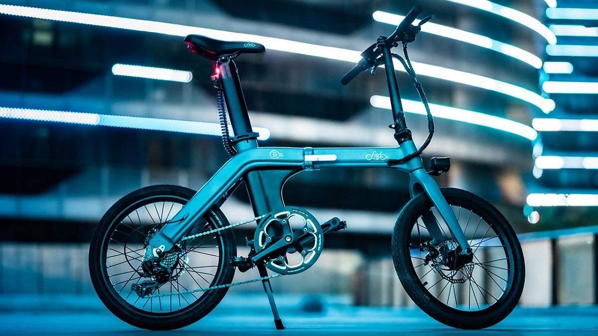 Компактний електровелосипед FIIDO D11 зможе проїхати 100 кілометрів на одному заряді