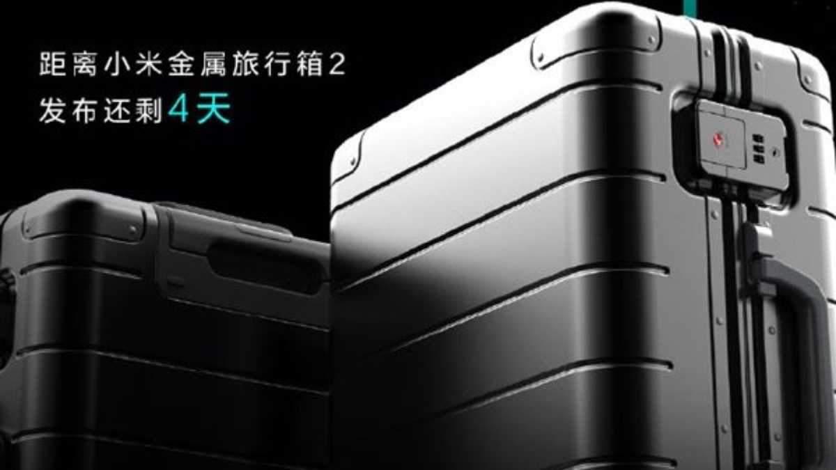 """Xiaomi випустила нове покоління """"елітної"""" валізи Metal Carry-on Luggage 2"""