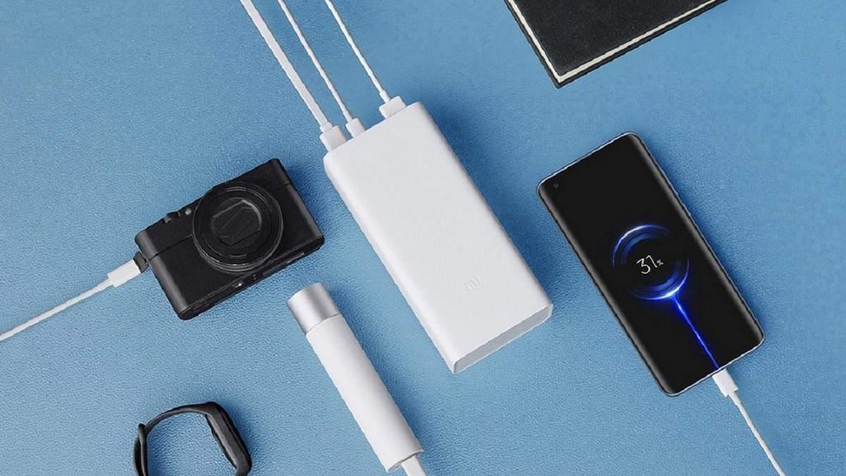 Xiaomi показала портативний акумулятор Mi Power Bank 3 місткістю 30 000 мАг