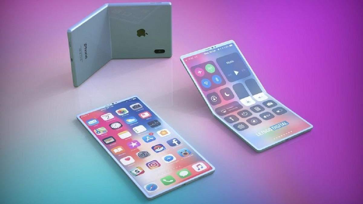 Apple готовится к выпуску гибкого iPhone