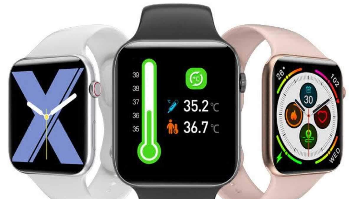 Смарт-часы Fobase Air Pro: умеют мерить температуру и стоят очень дешево