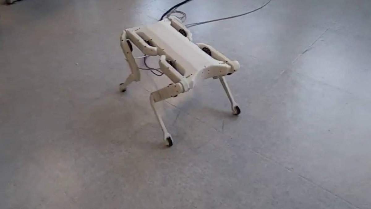 У робопса Boston Dynamics появился бюджетный конкурент – видео