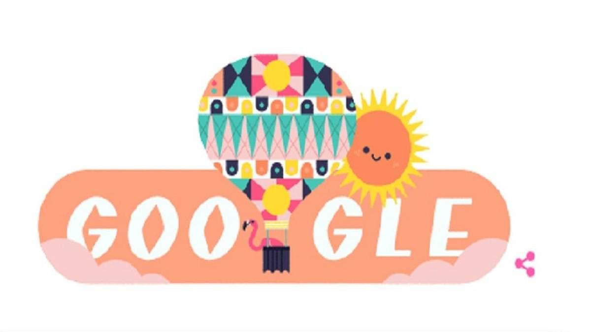 Новий дудл від Google – до Дня літнього сонцестояння