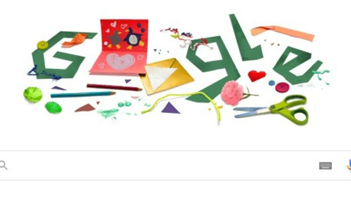 Google создал дудл по случаю Дня отца: для пап можно создать открытку