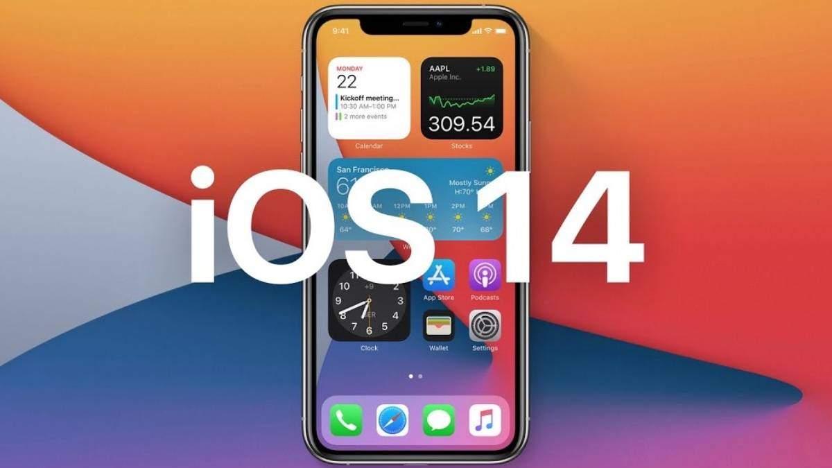 iOS 14 оновлення – список нових функцій