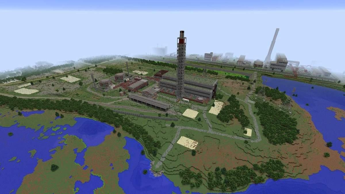 У грі Minecraft відтворили Чорнобиль: фото
