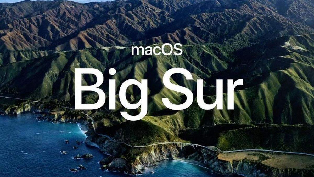 macOS Big Sur: новий дизайн та функції