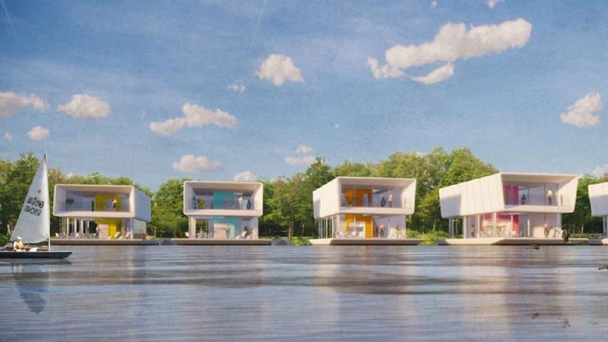Голландская компания будет строить плавучие модульные дома