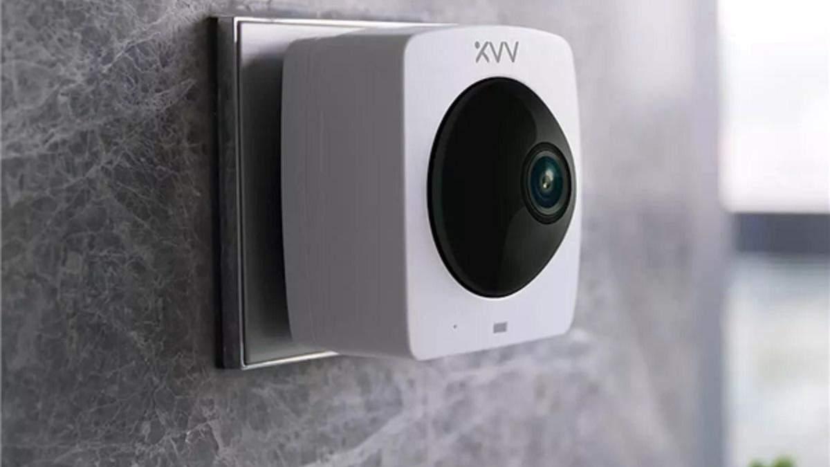 Xiaomi представила камеру наблюдения с круговым обзором