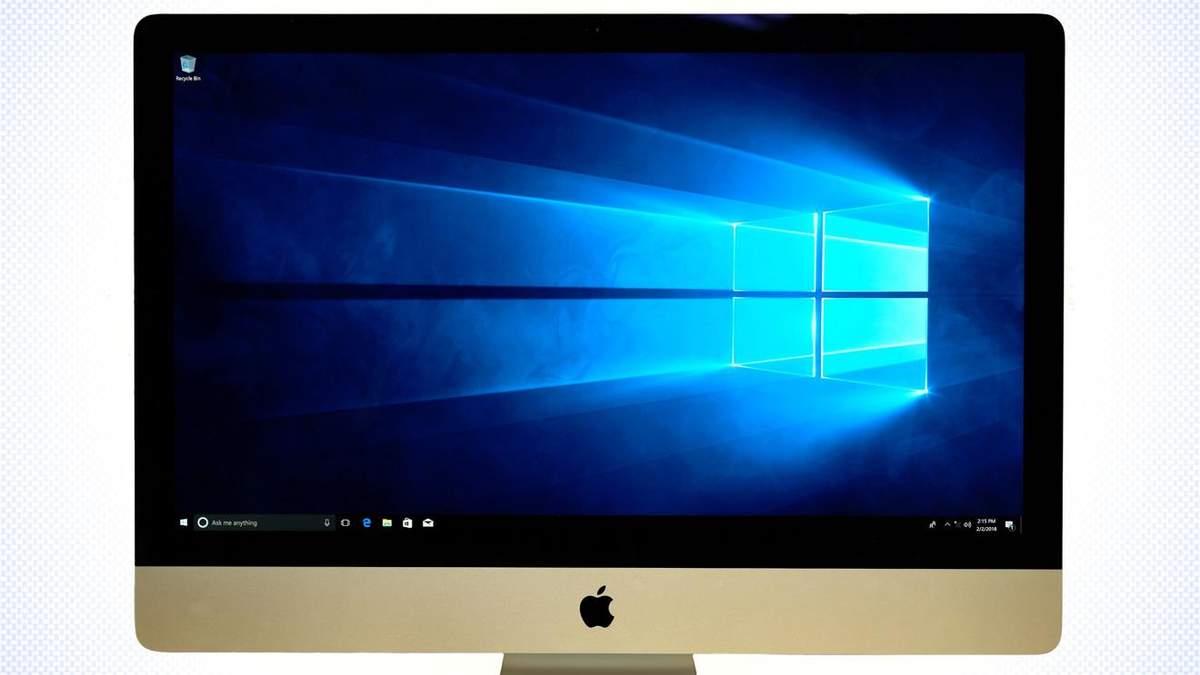Користувачі не зможуть встановити Windows на нові комп'ютери від Apple