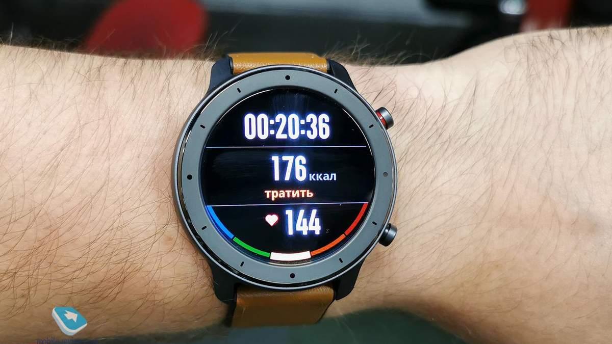 Смарт-часы Amazfit GTR могут мониторить дневной сон