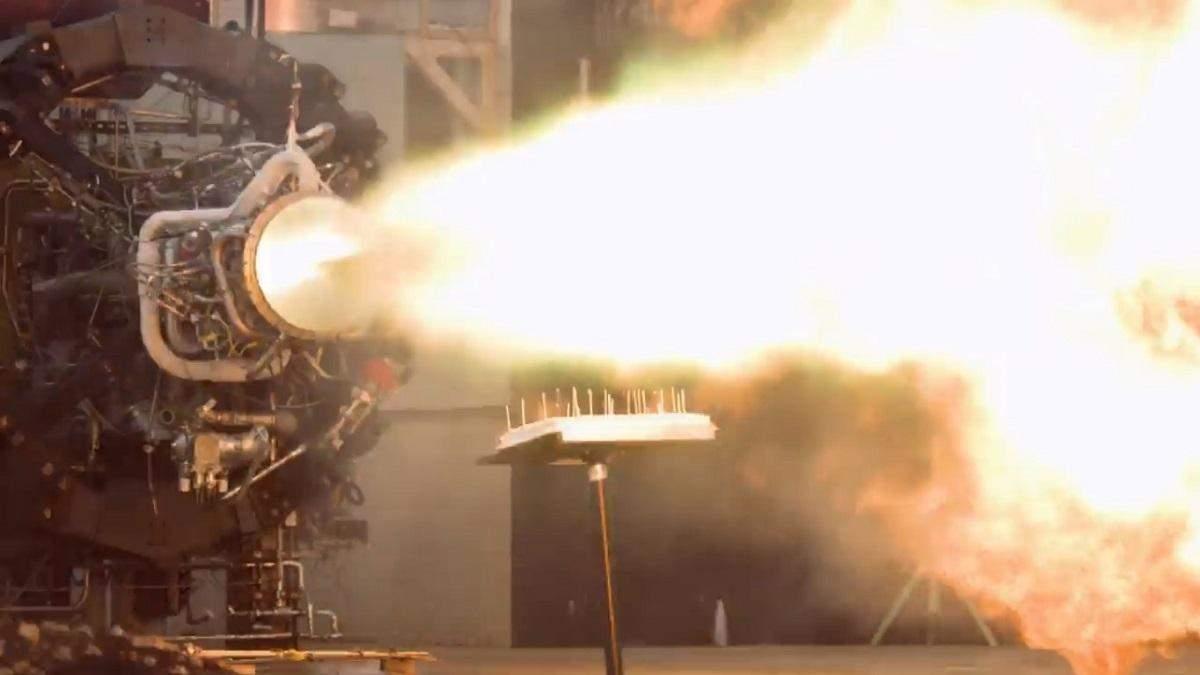 Космічне привітання: у Firefly Aerospace підпалили свічки на торті ракетним двигуном – відео