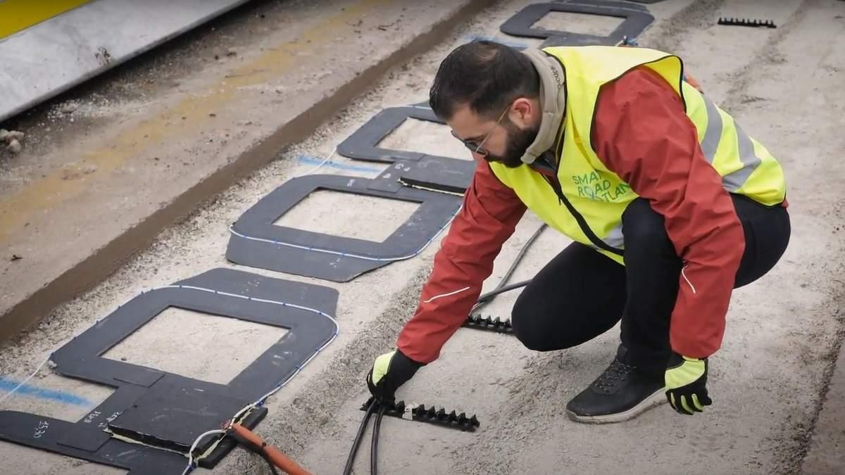 Стартап разработал дорожное покрытие, которое может заряжать электроавтомобили