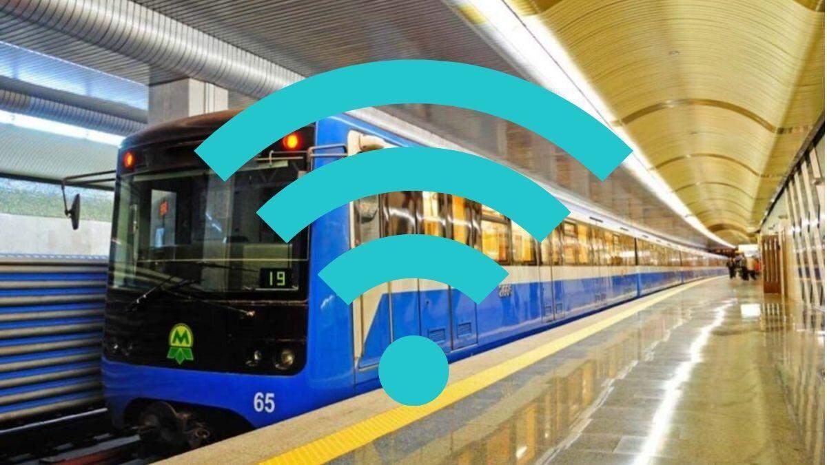 Почти все станции метро в Киеве оснащены 4G: список станций
