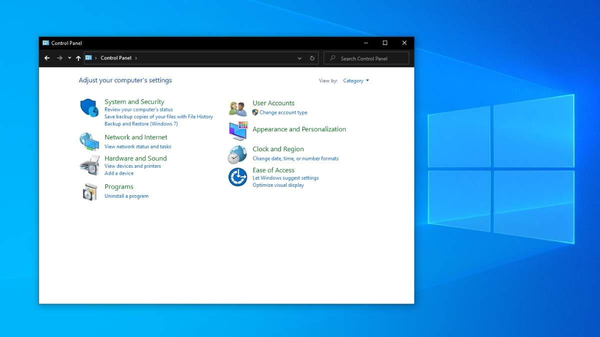 """У Windows 10 почали позбавлятися від """"Панелі управління"""""""