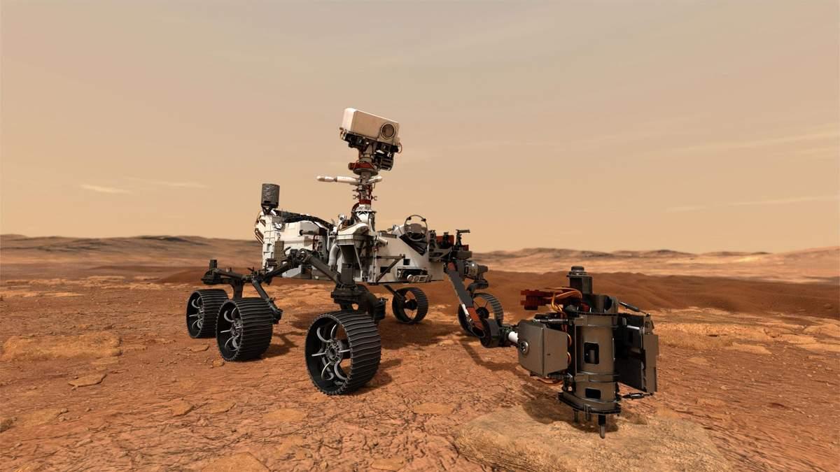 """Марсоход Curiosity отправился в """"летнее путешествие"""""""
