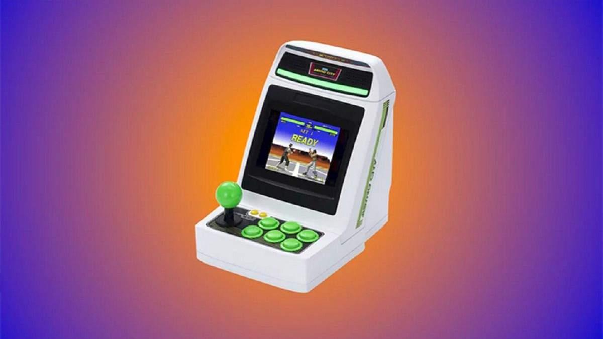 Sega представила миниатюрный игровой аппарат Astro City Mini