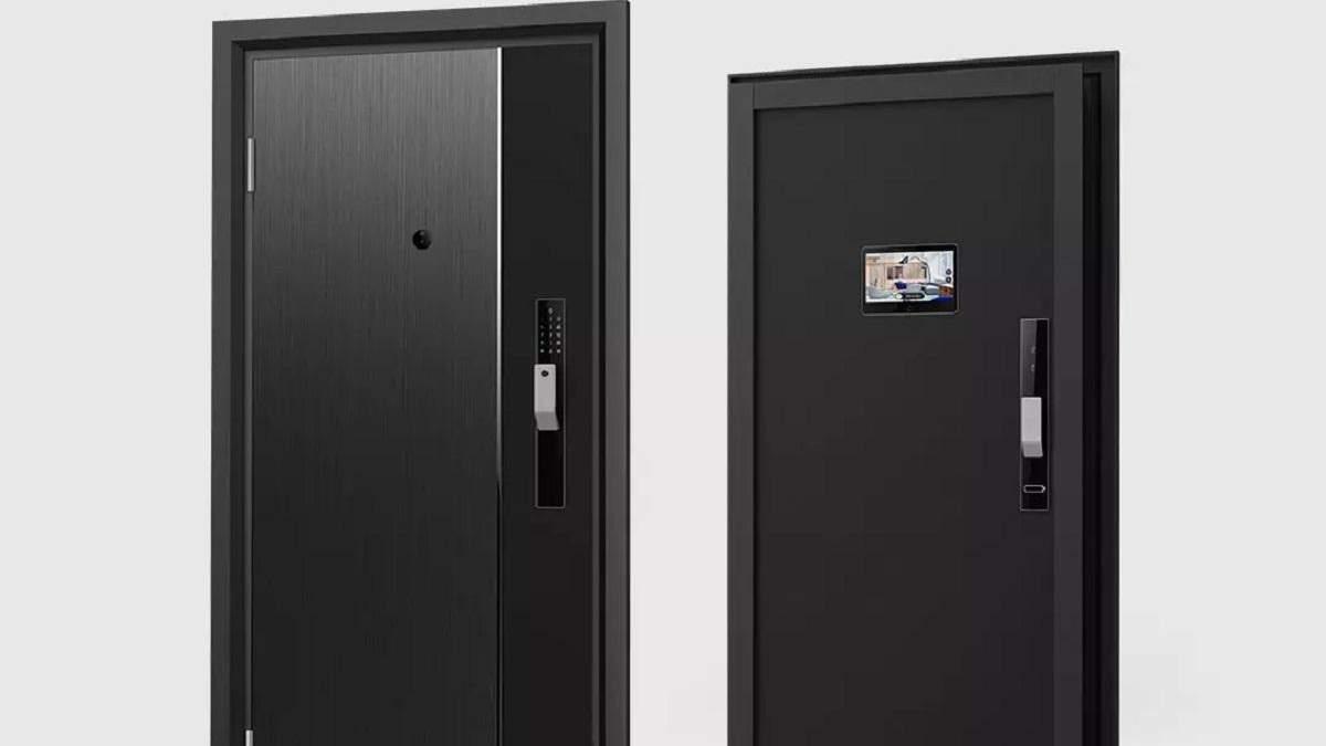 Xiaomi анонсувала розумні сталеві двері з дисплеєм і камерою
