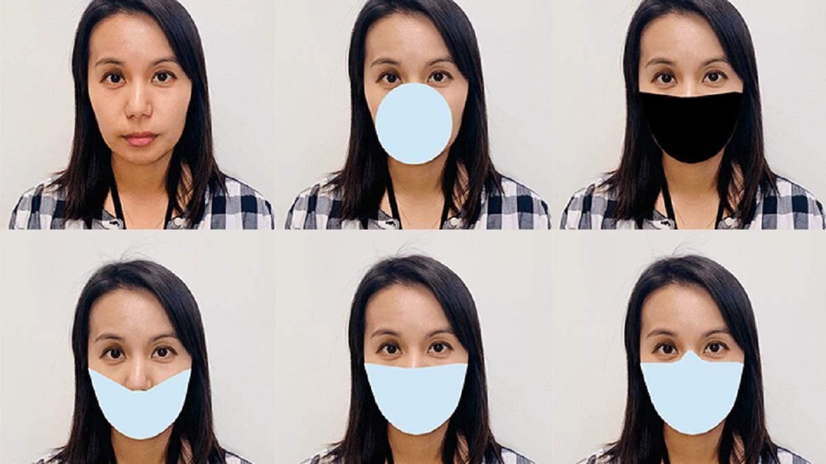 Медичні маски порушують роботу систем розпізнавання обличчя