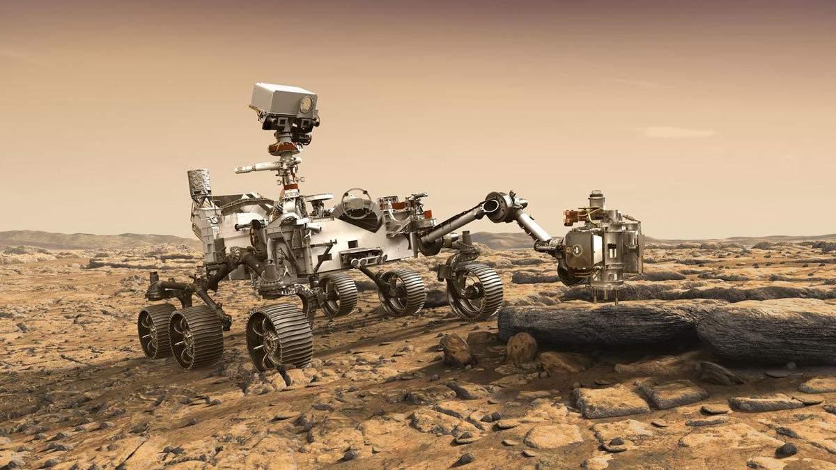 Марсоход Perseverance – миссия Mars 2020: онлайн трансляция