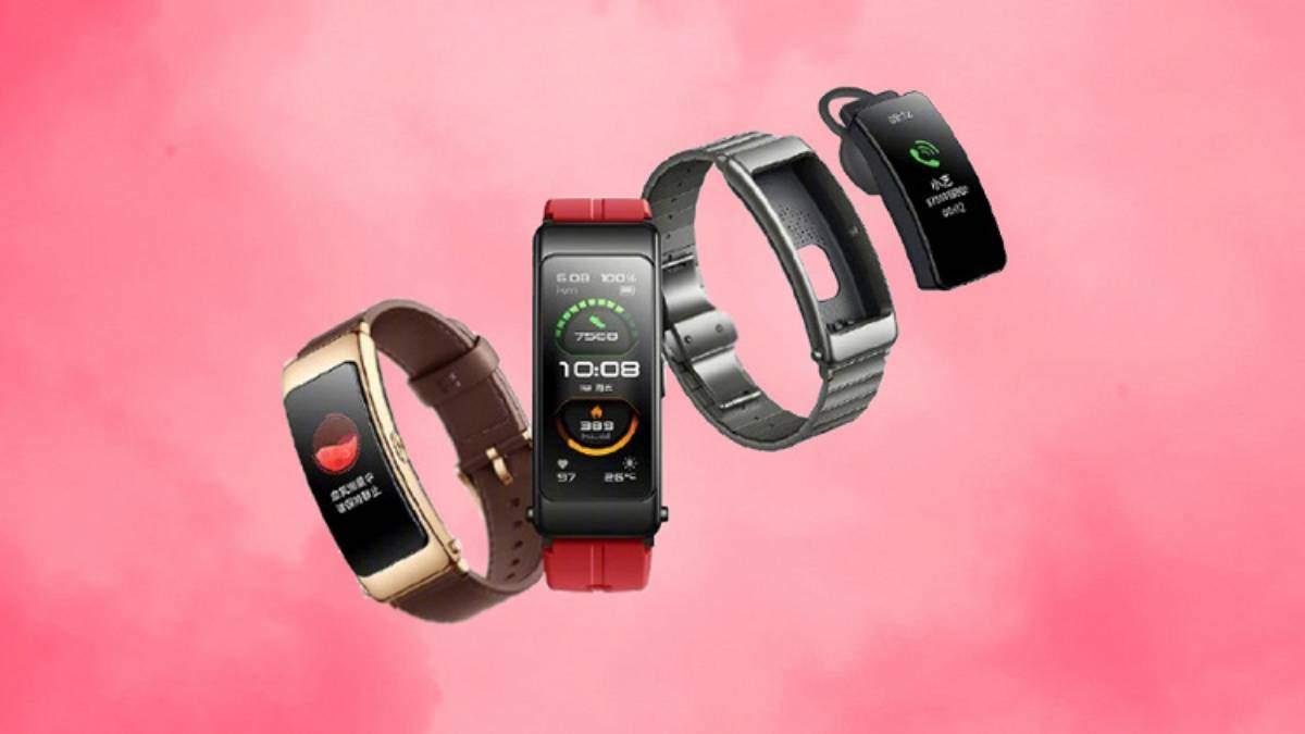 Huawei разработала смарт-браслет, который можно носить на ухе