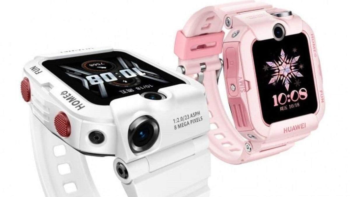 Huawei выпустила новые детские смартчасы Huawei 4X с двумя камерами