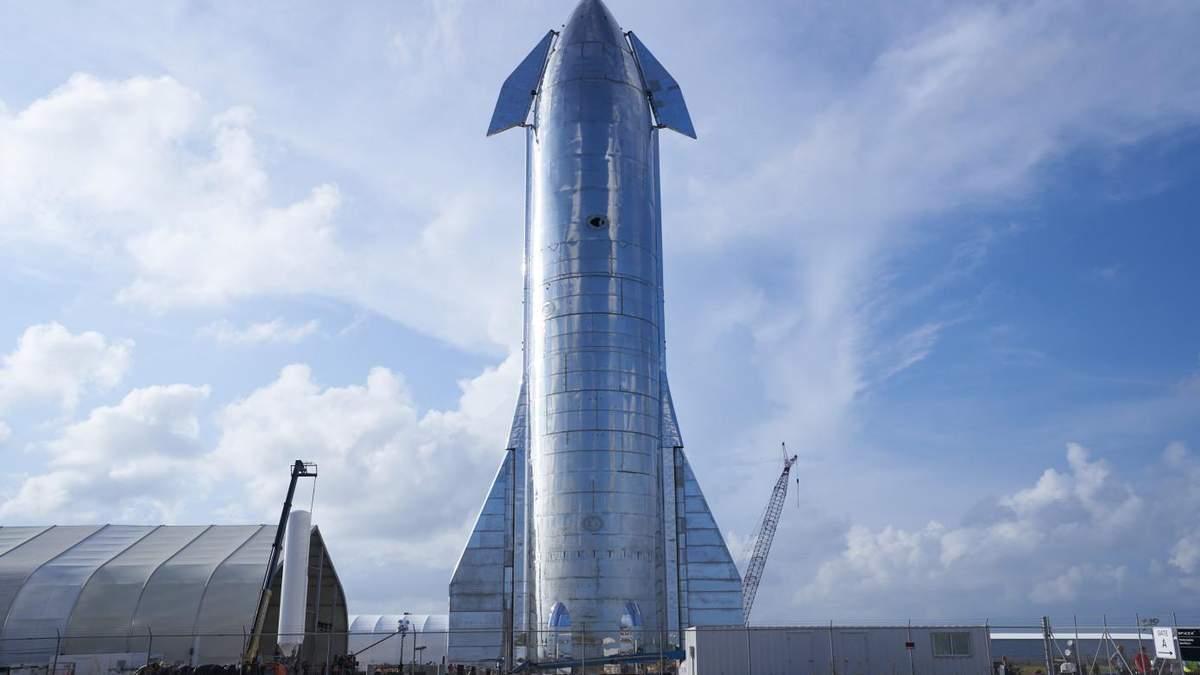 Прототип марсіанського корабля Spaceship вже готовий до першого польоту