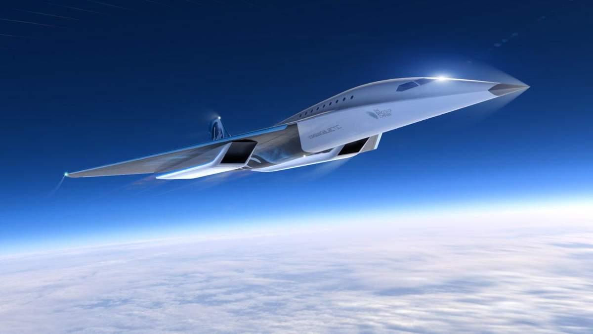 Концепта самолета Mach 3 від Virgin Galactic