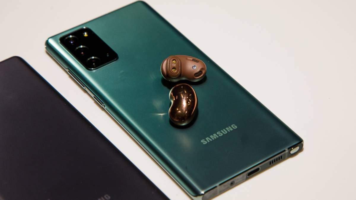 Galaxy Buds Live: характеристики и цена в Украине наушников Samsung