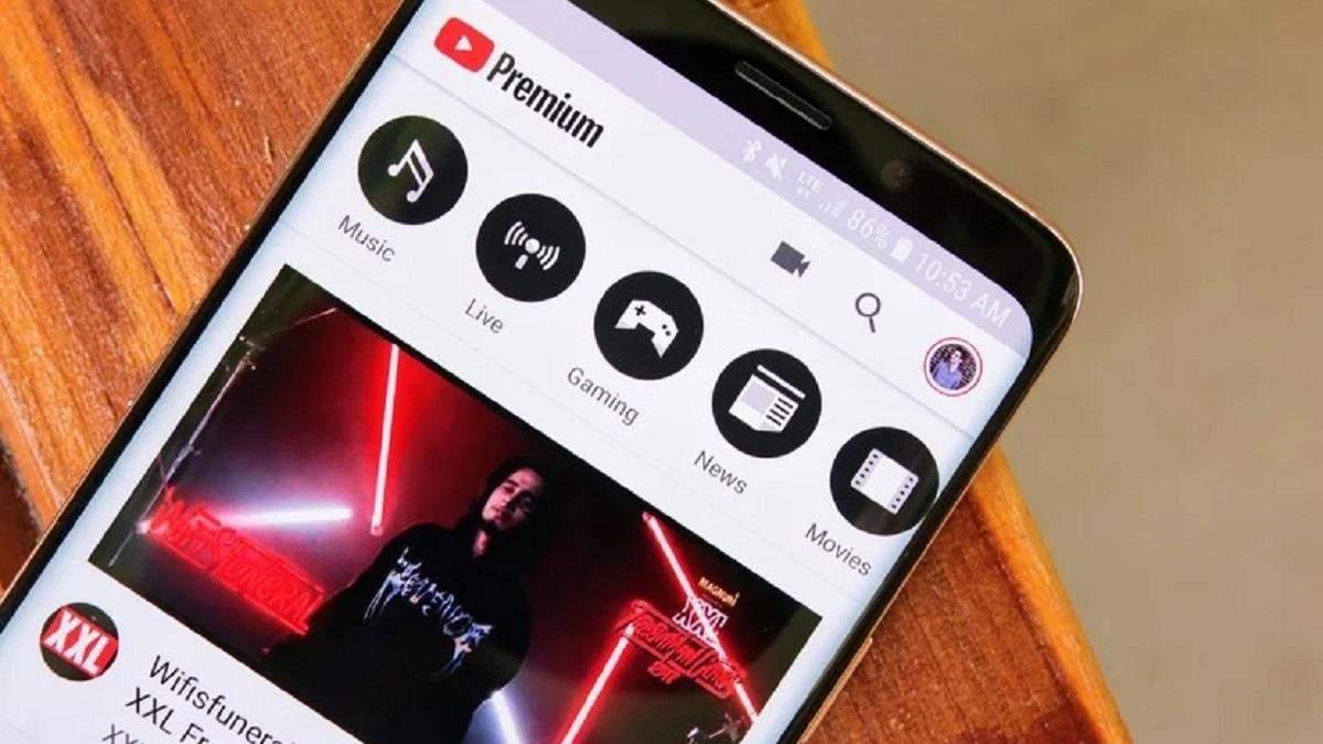 Новий інтерфейс YouTube