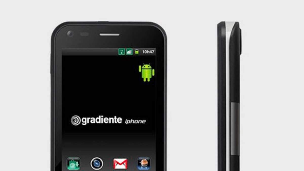 Смартфон Gradiente iphone